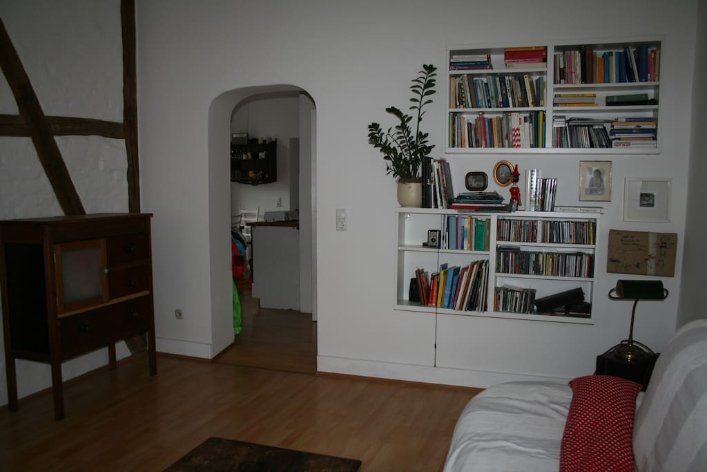 Livingroom heading to the kitchen