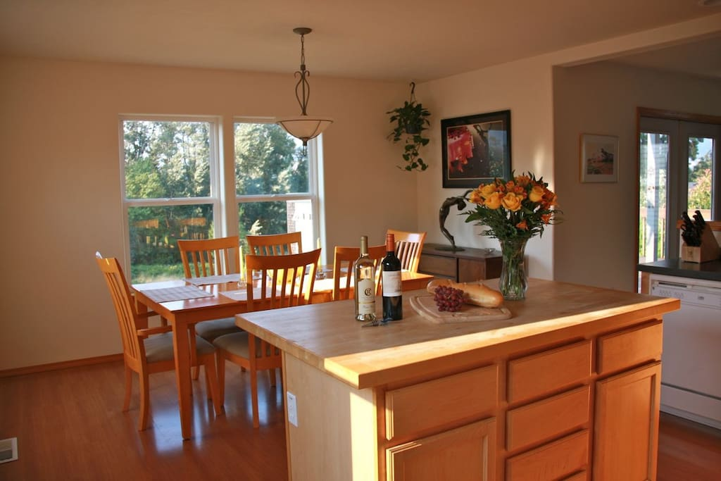 Dining Room and Kirchen