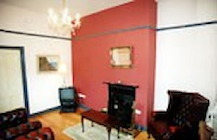 Old style front sitting room