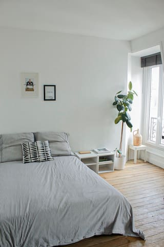 Cosy Flat near to the Buttes Chaumont Park