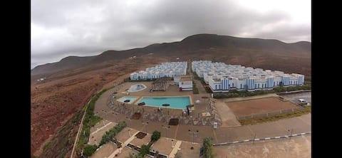 Grazioso appartamento in kasbah lagzira con piscina