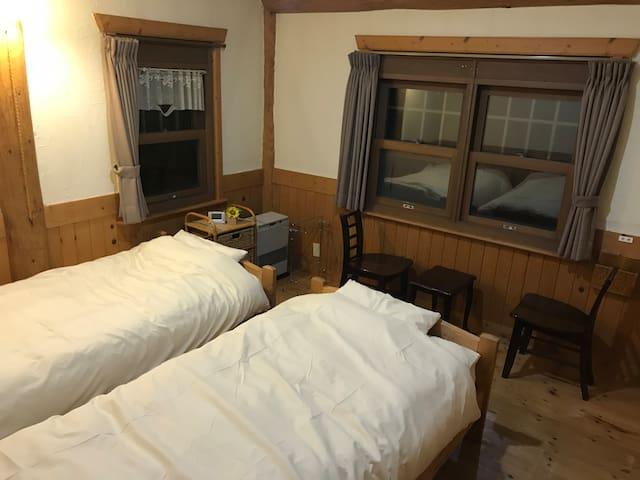 2人部屋 Twobed room
