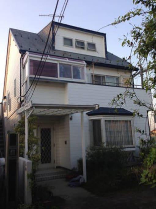 2min to the beach! house. 海まで2分、茅ヶ崎の家です。