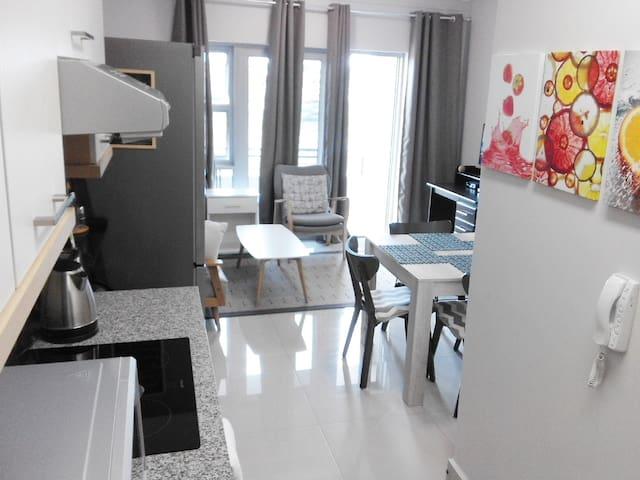 Kitchen entrance view.