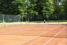 Tennis à disposition