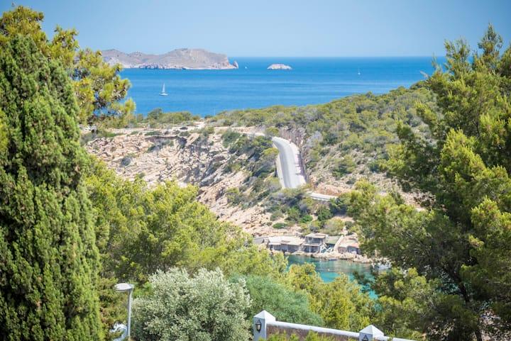 Private Pool in Cala Vedella !