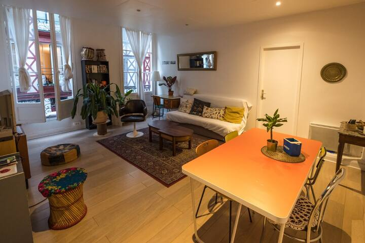 Grande chambre double en plein coeur de Bayonne