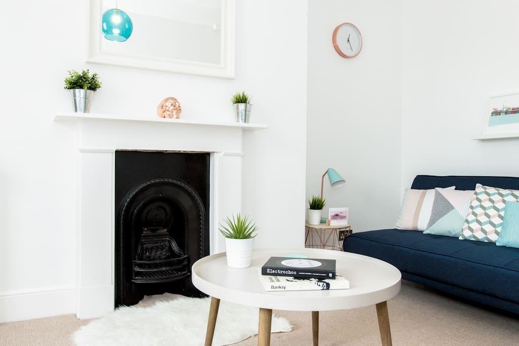 Lounge, Sofa/Sofabed area