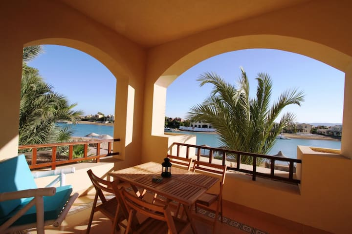 Cozy little 2 BR studio ElGouna - Hurghada - Apartment