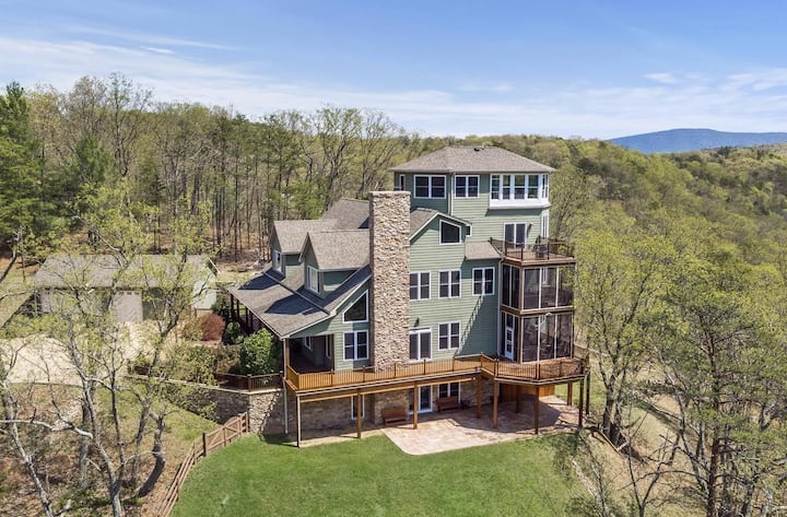 Luxury in Shenandoah Valley - Stay Riverbend!