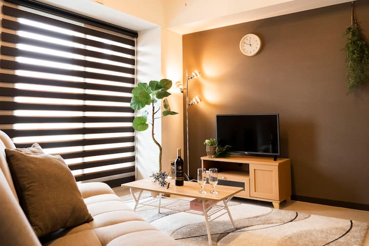 (BT503)Cozy&clean apt.Great for Fam/couple SAPPORO