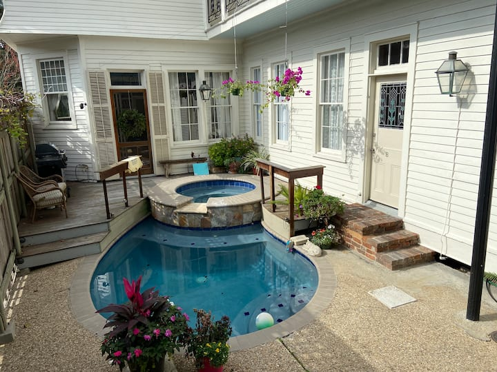 Garden District Oasis...Location!...Hot-tub/Pool