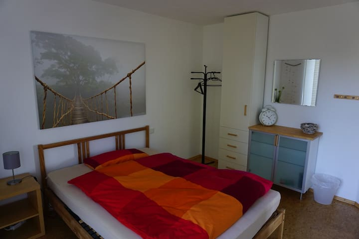 Zimmer am Teich, Bad/ Küche/Essplatz,  Waiblingen