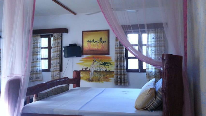 (Lovers Studio Diani Beach) - Diani Beach - Apartament