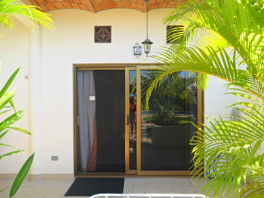 Entry to Bungalow