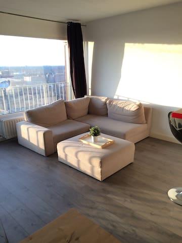 Toplocatie, uitzicht op binnenstad! - Enschede - Appartement
