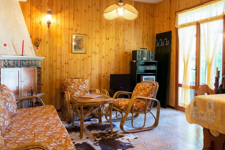 Grazioso appartamento con giardino - Lavarone
