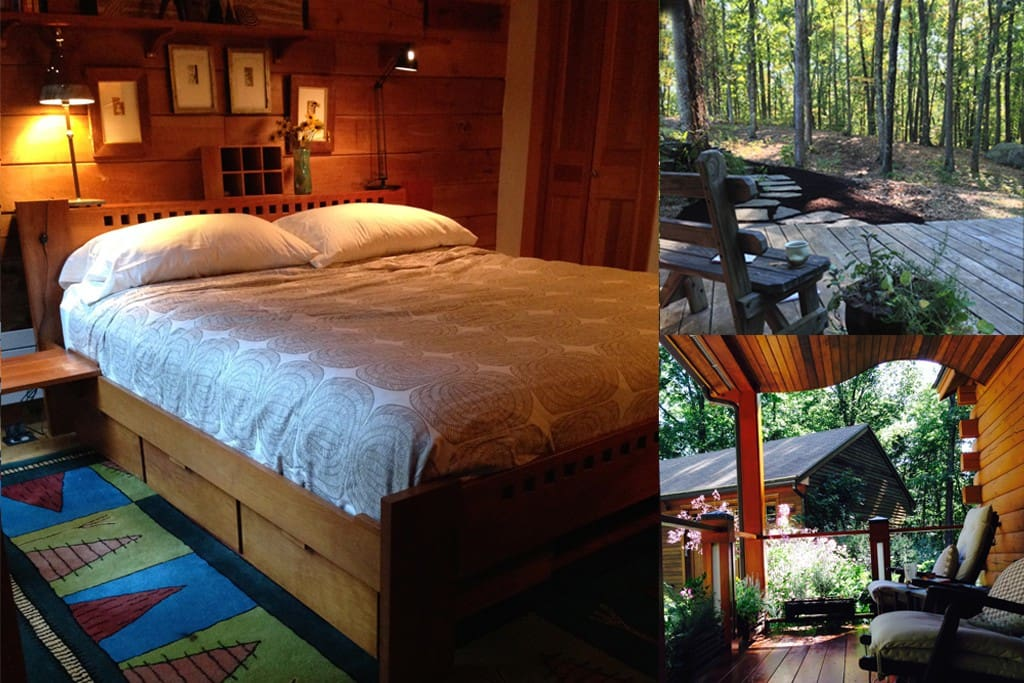 Suite In Beautiful Log Cabin Cabins For Rent In
