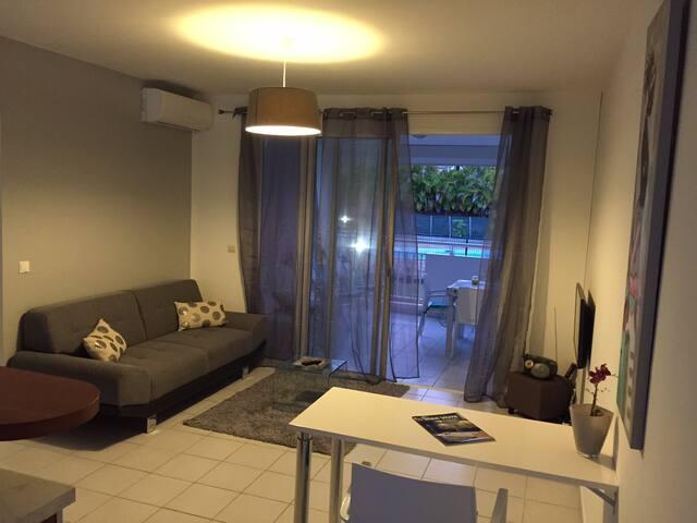 T3 spacieux entierement renove - Baie Mahault - Apartamento