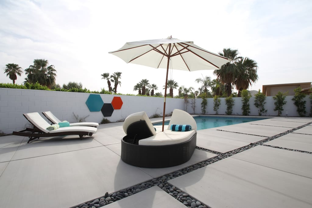 Private Modern oasis