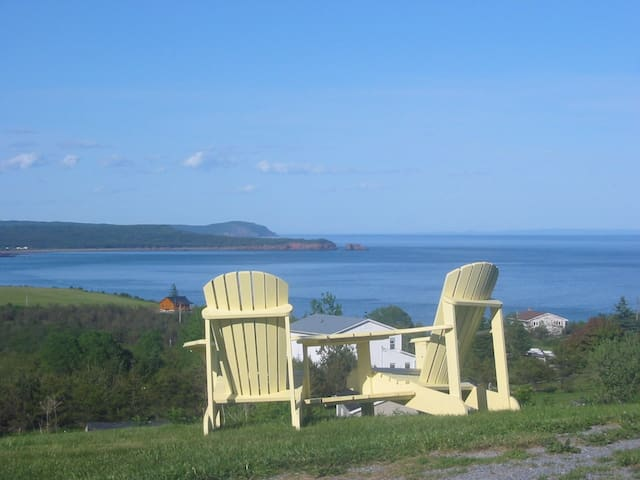 Room with one double bed/bay view - Gardner Creek,Saint John - Bed & Breakfast