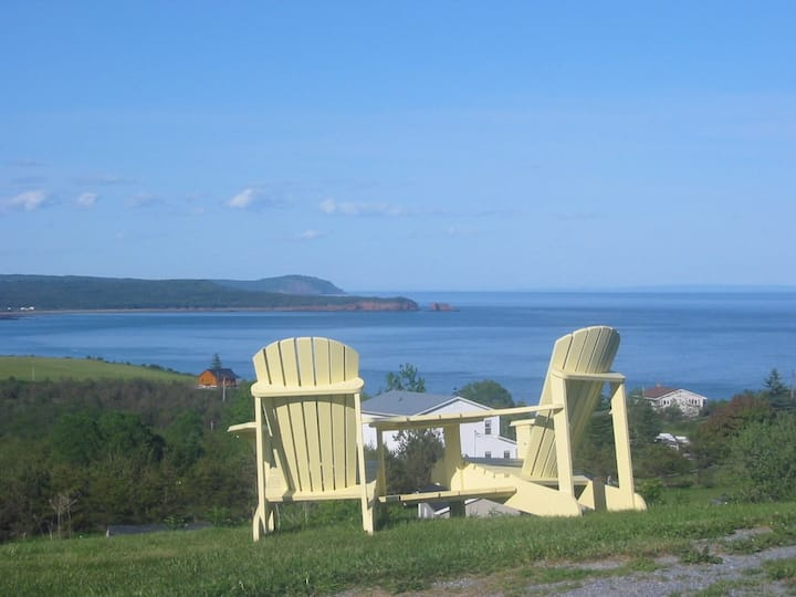 Bay of fundy, bed & breakfast, private double bed
