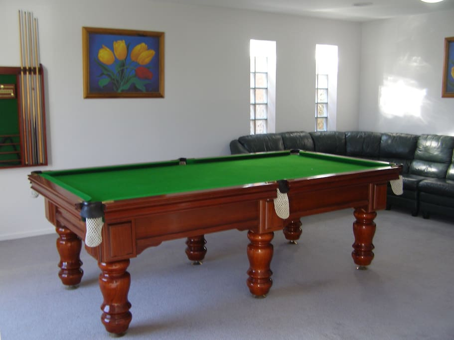 Anyone for a game of pool?