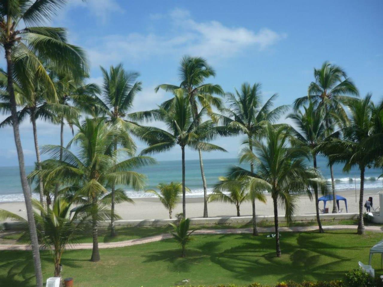 Vista del departamento desde la Playa