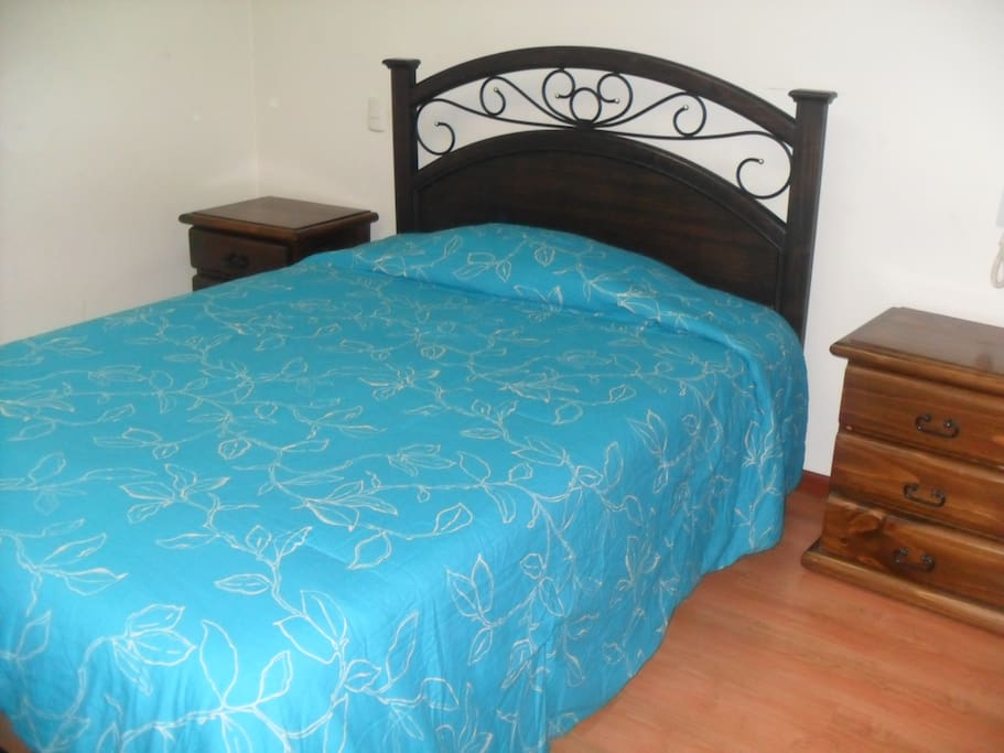 Double bed - bedroom 2
