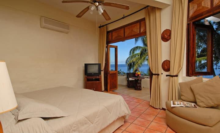 Oceanfront Bedroom1 Puerto Vallarta