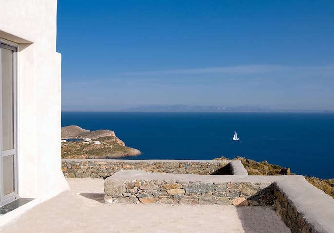 great view to all aegean sea