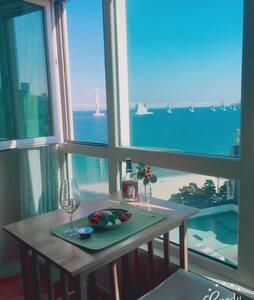 OPEN 할인 광안 해변가  Healing tree - 水营区(Suyeong-gu) - 公寓