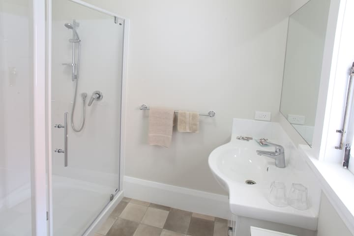 The bathroom for the Derby Room