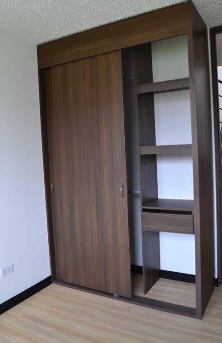 Closet at Room