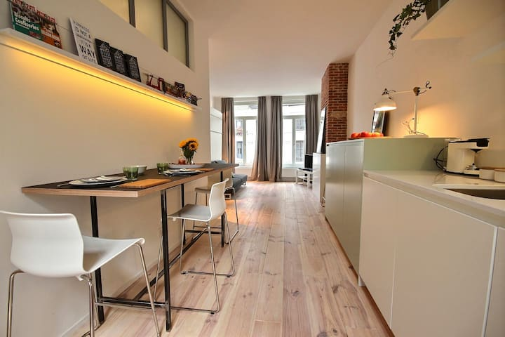 Studio Praline - 2PS - Bruxelles - Lejlighed