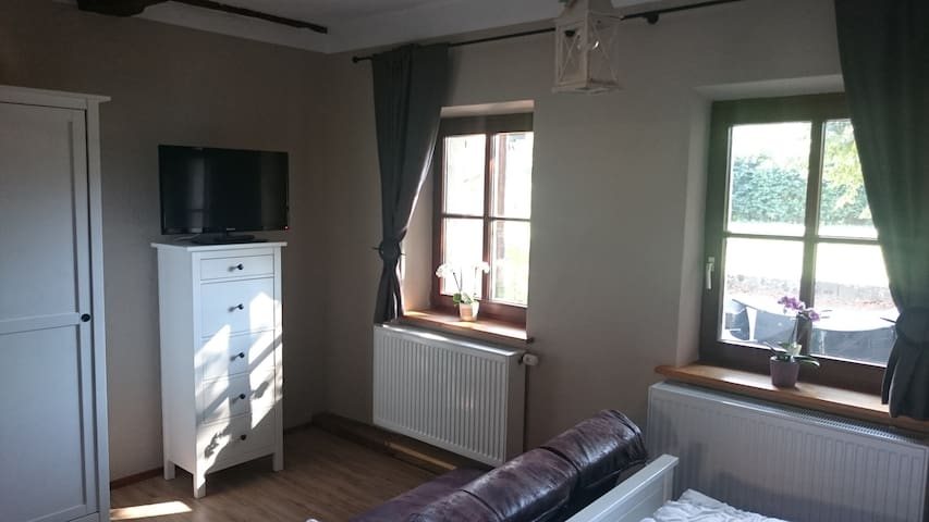 Kleines Doppel-Apartment im EG - Thurnau - Apartment