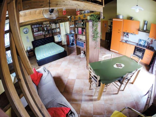 accogliente cottage a Villar San Costanzo