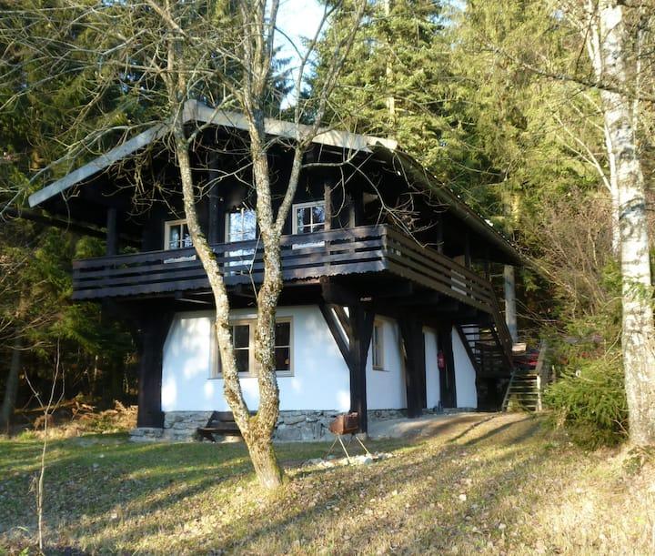 Holzblockhaus im Bayerischen Wald