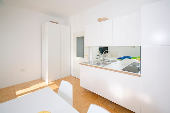 The cute, sunny apartment in the center +P - Lubiana