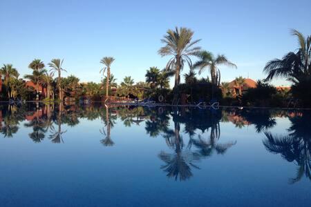 Oasis with garden,WiFi ADSL & Pools.German Sat TV. - La Oliva - Bed & Breakfast