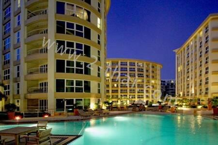 2 комнаты ,1 спальня,5 этаж,балкон. - Muang Pattaya - Wohnung
