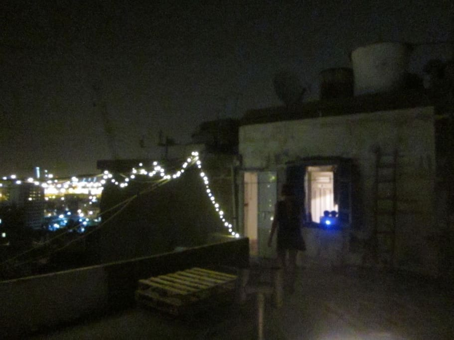 1st Terrace at night