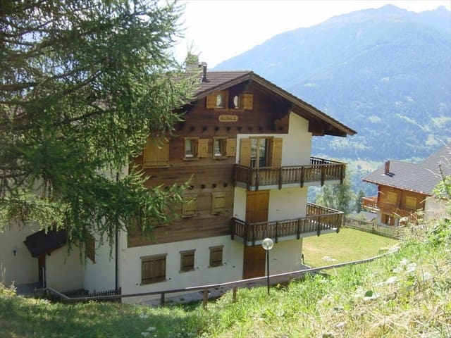 Lovely Flat near the ski slopes - Hérémence - Appartement