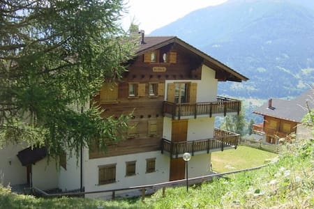 Lovely Flat near the ski slopes - Hérémence - Huoneisto