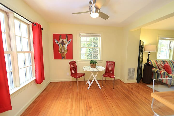 Cameron Village Townhouse -Downtown Raleigh