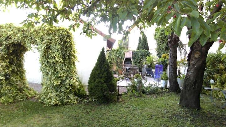maison de ville 90m2 avec jardin et terrasse