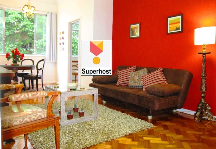 3-Bedroom *IPANEMA BEACH* Apt. !