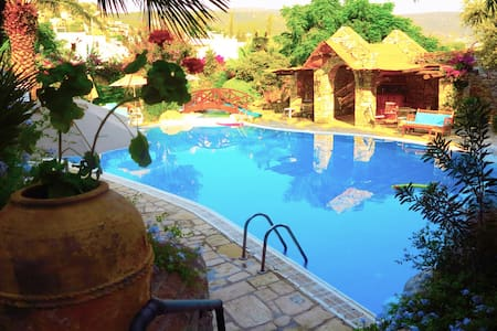 New & Well situated flat with pool! - Bodrum - Casa
