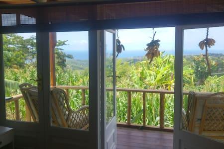 Eco Mountain Retreat with Sea View