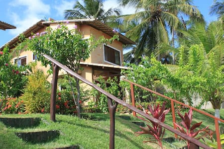 Charming Beachside home in Brazil - Barra do Cunhaú - Osakehuoneisto